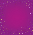 lilac poster with star vector image vector image