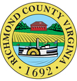 Richmond County Seal vector image vector image