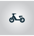 Set of transport icons - scooter and moped vector image vector image