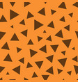 triangle chaotic seamless pattern 101 vector image vector image