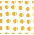 Watercolor goldsplashes texture vector image vector image