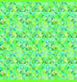 green abstract seamless striped shape pattern vector image vector image