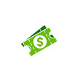 label money logo icon design vector image