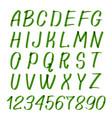marker hand written symbols letters