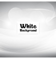 smooth modern white soft background image vector image vector image