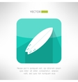 Surfboards icon in modern simple flat design vector image vector image