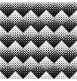 abstract black and white square pattern background vector image vector image