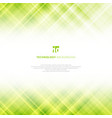 abstract light green technology background with vector image vector image