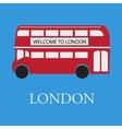 bus london vector image vector image
