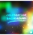 Celebration abstract background vector image