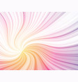 color curved rays background vector image