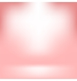 Empty Studio Light Pink Abstract Background vector image vector image