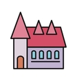 House Icon on White vector image