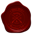Hunting Seal Stamp vector image vector image