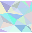 low-polygonal multicolor background vector image vector image