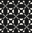 monochrome seamless pattern in arabian style vector image vector image