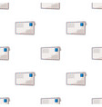 postal envelopemail and postman pattern icon in vector image vector image