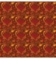 Seamless pattern I love coffee vector image vector image
