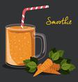 Smoothie design vector image