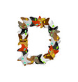letter d cat font pet alphabet symbol home animal vector image