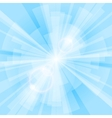 Blue Rays Background vector image