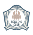 Bowling Club vector image vector image