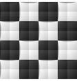 Chessboard seamless pattern vector image vector image