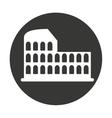 coliseum roman isolated icon vector image