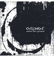 Grunge Black and White Distress Texture vector image
