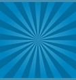 rays background blue vector image vector image