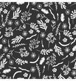 Seamless pattern with wildflowers vector image