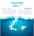 Startup Fly vector image vector image