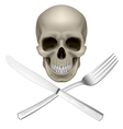 Unhealthy diet vector image vector image
