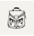 backpack vector image vector image