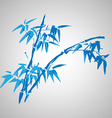 Chinese painting of flowers vector image