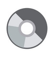compact disk data archive digital audio vector image vector image
