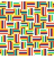 Digital colorful pattern vector image vector image