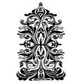 Floral Motifs Design- vector image vector image