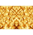 Golden abstract ornament vector image vector image
