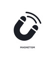 magnetism isolated icon simple element from vector image vector image
