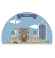 Tashkent vector image vector image