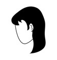 woman avatar icon image vector image vector image