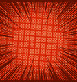 comic page red light background vector image vector image