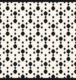 dots seamless pattern simple minimalist black bg vector image vector image