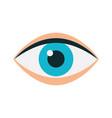 eye human isolated icon vector image vector image