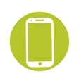 modern phone icon image vector image vector image