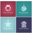 Perfect Christmas design for greetings card vector image vector image