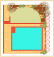 Swimming pool landscaping vector | Price: 1 Credit (USD $1)