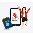 Friday Celebration design vector image vector image