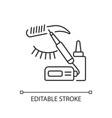 Microblading linear icon